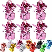 24 Pack Heavy Balloon Weights Foil Helium Latex
