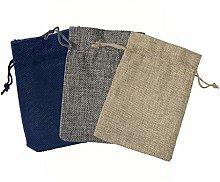 24 Pcs Reusable Produce Bags, Organic Cotton