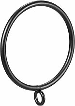 24 x Metal Curtain Rings 55 mm Interior Diameter