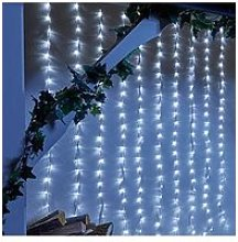 240 White Led Waterfall Indoor/Outdoor Christmas