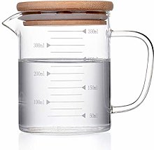 240ml-1000ml Transparent Glass Measuring Cup