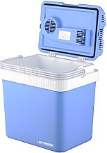 24L Electric Cool Box Cooler for Drinks Food Ice,