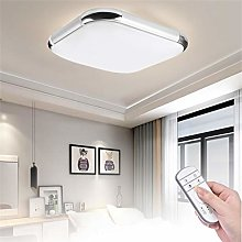 24W Dimmable LED Ceiling Light with Remote Control
