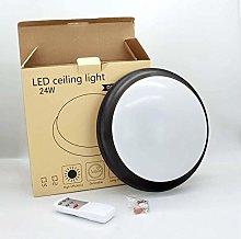 24W LED ceiling light Black