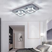 24W LED Ceiling Light Crystal Chandelier Pendant