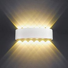 24W LED Wall Light 32cm Indoor Up and Down Wall