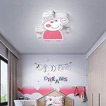24W Modern LED Kids Lamp Cartoon Little Pig Design