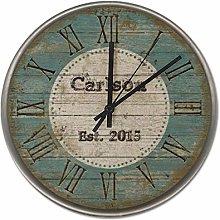 25 CM Wall Clock, Non-Ticking Silent Decorative