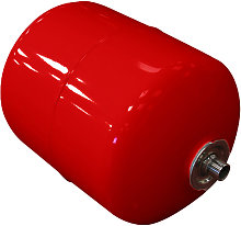 25 Litre Extra Heating Expansion Vessel Red