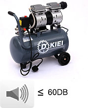 25 Litre Mobile Air Compressor 8CFM 60dB Silent