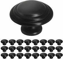 25 Pack Probrico Round Mushroom Kitchen Cabinet