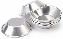 25 Pcs Cake Tart Mold Biscuit Canned Pudding Mold