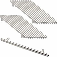 25 Pieces Brushed Nickel Stainless Steel 128mm