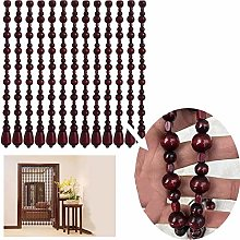 25 Shares Wood Beaded Curtains Door String Bead