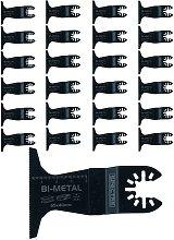 25 x Oscillating BIM 65mm x 40mm Plunge Cut Multi
