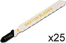 25 x Saxton Jigsaw Blades T118G fit Bosch, Dewalt,