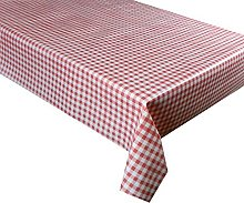 250 cm X 137CM (2.5 METRES) Table Cloth RED
