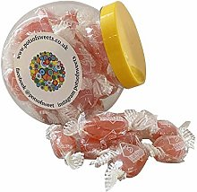 250g Cookie Jar of Individually Wrapped Strawberry