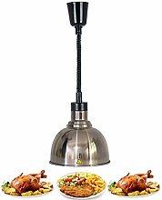 250mm Food Warmer Lamp Food Heat Lamp Warmer with