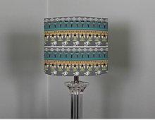 25cm Cotton Drum Lamp Shade Bloomsbury Market