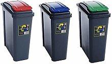 25L,50L Plastic Recycle Recycling Bin Kitchen