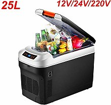 25L Car Refrigerator, Dual Core Refrigeration,