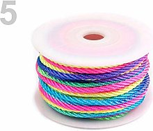 25m As Pictured Twisted Cord Ø3mm, Cords and