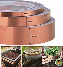 25M Copper Foil Tape Adhesive For Plant Protection