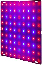 25W LED Grow Light for Indoor Plants 81 LEDs Red &