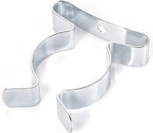 25x Zinc Plated Tool Clips   32mm