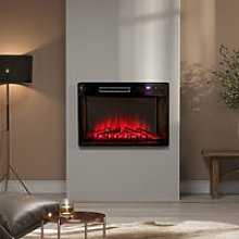 26 inch Electric Insert Heater Fireplace 3 Flame