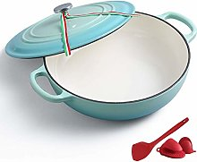 26Cm Enamel Cast Iron Casserole Dish Enamel Cast