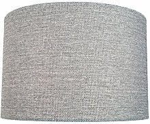 26cm Linen Drum Lamp Shade Symple Stuff
