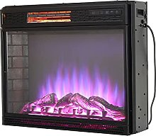 26inch Wall Mounted Electric Fireplace with Remote