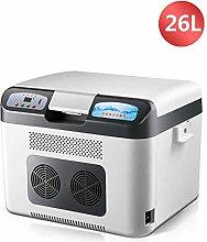 26L Portable Electric Cool Box Car Fridge Cooler