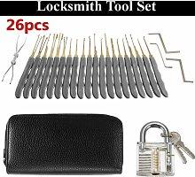 26pcs Padlock Locksmith Training Starter Opener