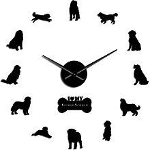 27 Inch Wall Clock Berner Sennen Dog Breed Long