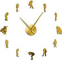 27 Inch Wall Clock Large Photographers Hobby Decor
