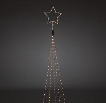 274 Amber White LED Droplets Christmas Tree Fairy