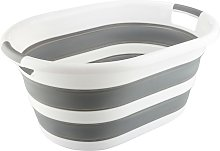 27L Folding Collapsible Laundry Basket Washing