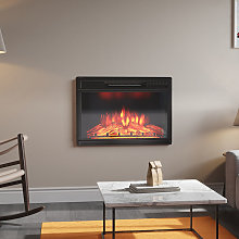 28 inch Electric Insert Heater Fireplace 3 Flame