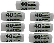 280 Pedal Bin Liners 45Cm Extra strong