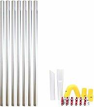 28ft 8.4m Long Reach Gutter Vacuum Pole Kit Set