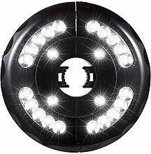 28LED Cordless charging Umbrella Light with Hooks