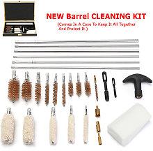 28pcs Universal Gun Cleaning Kit for Rifle Pistol