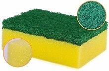 28pcs Wipe Dish Sponge Clean Scouring Cloth Dish