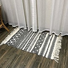 28X63inch Nordic Cotton and Linen Carpet Hotel