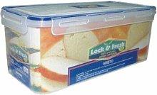 297 CLIP & LOCK AIRTIGHT BREAD BIN FOOD CONTAINER