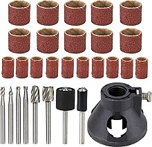 29pcs Rotary Tool Accessory Set Sanding Drum with
