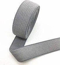 2cm Elastic Bands Thick Plain Weave Nylon Elastic